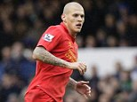 Loyal: Martin Skrtel says he has no desire to leave Liverpool for Russia