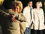 Naomi Watts and Naveen Andrews recreate romantic moment between Princess Diana and her heart surgeon lover as they film at night