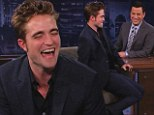 'I had a little bit of vodka!' Robert Pattinson slurs words and nearly trips over his shoes during tipsy TV appearance