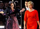 michelle obama and ann romney election style outfits dresses