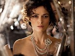 Fit for a princess: Keira Knightley had more than $2million worth of Chanel fine jewellery at her fingertips, as she played the role of Anna Karenina, in Joe Wright's latest movie adaptation