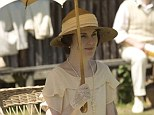 Anyone for cricket? Lady Mary supported the annual match between the House and the village