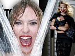 The ultimate Hitchcock blonde: Scarlett Johansson recreates the iconic Psycho shower scene for V Magazine