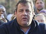 Off the trail: Chris Christie has abandoned electoral politics for the past week after Hurricane Sandy