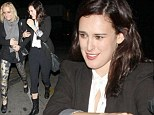 That outfit's just shin-ful! Rumer Willis makes a severe fashion faux pas in cropped trousers and ankle boots