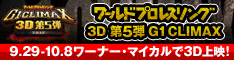 G1 CLIMAX 3D第5弾