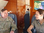 Paula Broadwell and General David Petraeus
