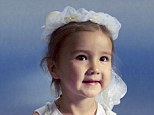 Official report: A federal probe concluded that Sydney Stewart, aged five, caused the 2010 helicopter crash that killed her, her parents and the pilot by pushing on the flight controls with her feet