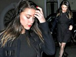 No wonder Johnny was keen to win her back! Amber Heard looks stunning as she dines out after rumours 'she's rekindled her romance with Depp'