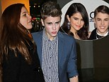 Selena Gomez 'dumped Justin over trust issues'... as Bieber spotted at Lion King show with model Barbara Palvin