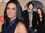 Small consolation: While Ashton and Mila continue to go strong Demi Moore is named World's Most Coveted Cougar by dating site