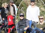 Playing nice! Jennie Garth reunites with ex for first time at daughter's soccer game... as Reese Witherspoon and Ryan Phillippe cheer on son Deacon