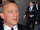 Backseat Bond: Daniel Craig admits he does not do his own stunts and prefers being driven around by the professionals