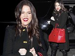 Oh hi London! Khloe Kardashian jets out of LAX to meet her sisters in London after hosting X Factor
