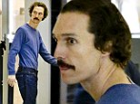 Shockingly thin Matthew McConaughey looks far from his beefcake best at airport