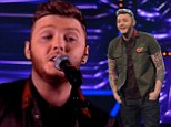James Arthur wows X Factor judges as he puts a surprising dub-step twist of Adele classic Hometown Glory