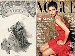Then and Now Magazine Covers vogue