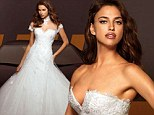 Trying to tell us something? Irina Shayk models wedding dresses as rumour has it Cristiano Ronaldo is ready to pop the question