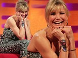 'My first haircut was a Rod Stewart cut': Cameron Diaz reveals her love for the rock legend as she joins him on The Graham Norton Show
