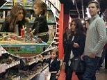Kourtney Kardashian takes son Mason to toy store with Scott Disick in London!