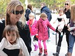 Denise Richards enjoyed a lunch date with her daughter in New York City on Thursday