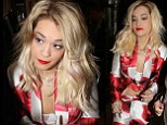 Rita Ora suffered a second wardrobe malfunction in one week and exposed her bra while out in Munich, Germany on Thursday