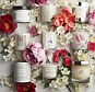 New floral-scented candles