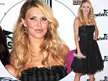 Mystery illness: Brandi Glanville was rushed to hospital on Thursday night after complaining of nausea and chest pains, but was later released and is resting at home