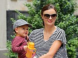 Mother-son dance: Miranda Kerr has revealed that she frequently enjoys dance parties to the Justin Bieber's songs with her 21-month-old son Flynn