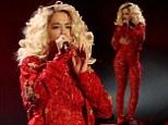 Rita Ora on stage