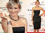 Cameron Diaz attends The TAG Heuer LINK Lady Launch Event in NYC