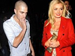 So glad you came! Katherine Jenkins glams up for a night on the town ... and runs into The Wanted