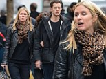 Her Prince Charming! James Rothschild takes his darling Nicky Hilton to the movies
