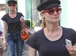 A great Gatsby! Diane Kruger goes on shopping trip wearing fetching newsboy cap