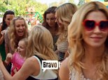Brandi Glanville was ignored by Taylor Armstrong at a Real Housewives of Beverly Hills garden party