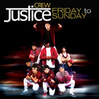 Friday To Sunday - Justice Crew, Single slick