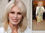 Joanna Lumley eats a vegetarian diet, never has a mid-day meal and rarely eats breakfast