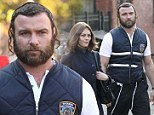 Shalom! Liev Schreiber wears ringlets in his hair to play a Hasidic cop alongside Vanessa Paradis on set of Fading Gigolo