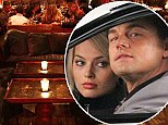Leonardo DiCaprio celebrates his 38th with star-studded party... with latest blonde Margot Robbie clamped to his side