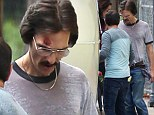 Wasting away: Skeletal Matthew McConaughey continues to suffer for his art on the set of The Dallas Buyers Club