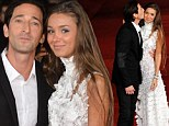 Red carpet ready! Adrien Brody makes first public appearance at Rome Film Festival with new girlfriend Lara Lieto