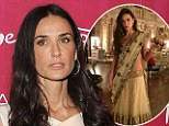 Eastern Promise: Demi Moore leaves behind her troubles and celebrates her fiftieth birthday in Dubai