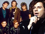 'I'm getting teary': Michael Hutchence's childhood friend John Farriss announces that INXS are to split after 35 years together