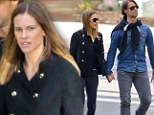 Moving fast! Hilary Swank's relationship with Frenchman Laurent Fleury continues apace