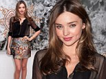 Tuesday, Nov 13 2012 9AM 11°C 12PM 14°C 5-Day Forecast Sheer beauty! Miranda Kerr sizzles in pretty sheer blouse and satin skirt as she attends fashion party in New York