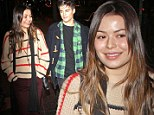 iCarly's Miranda Cosgrove and soap star Max Ehrich fuel romance rumours with evening stroll through Hollywood