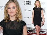 She's back! Former IT girl Julia Stiles proves she's still got it as co-star Jennifer Lawrence is a no-show on the the Silver Linings Playbook red carpet in New York