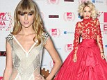They have style and they can sing! Rita Ora looks radiant in red while Taylor Swift opts for vintage glamour at the MTV EMAs