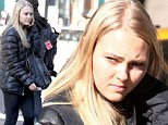 The Carrie Diaries star AnnaSophia Robb lets her natural beauty shine on casual day in the city