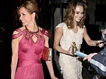 Darcey Bussell and Kara Tointon make elegant exits after partying at Daily Mail Inspirational Woman of the Year Awards